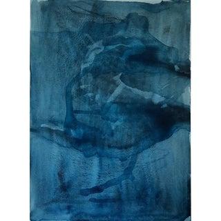 """Katama in Indigo - Watercolor Print - 24"""" X 30"""""""