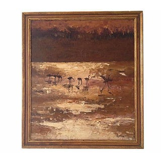 Birds on Savanna Oil
