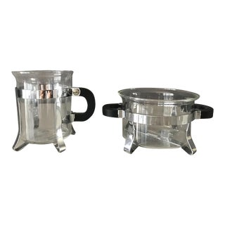 Bodum Creamer & Sugar Bowl Set - A Pair