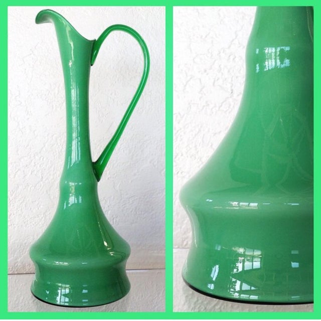 Kelly Green Empoli Vases - Set of 4 - Image 5 of 5
