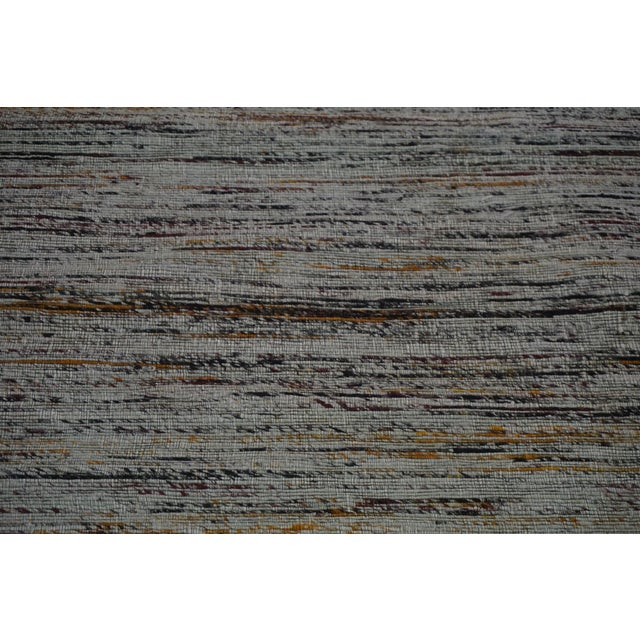 Gray Jacquard Loom Indian Rug - 5' x 8' - Image 4 of 5