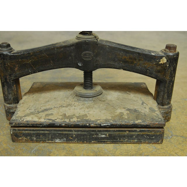19th-C. English Book Press - Image 5 of 10