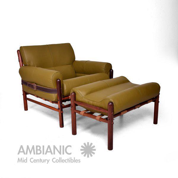 """Arne Norrel """"KONTIKI"""" Pair of Safari Chairs - Image 6 of 11"""