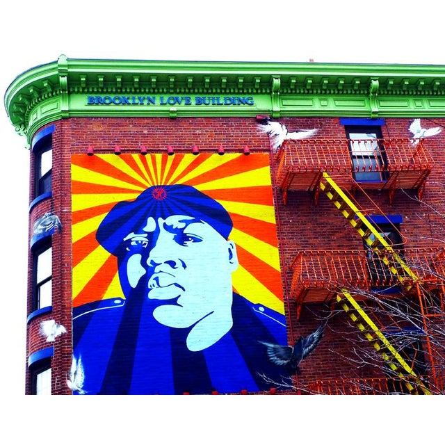 Original Biggie Smalls Photograph, Brooklyn, NY - Image 1 of 2