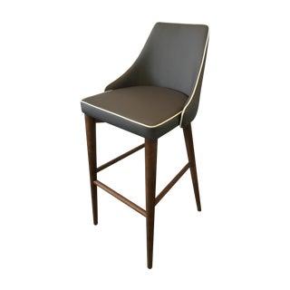 Dark Gray Leatherette Bar Stool - 3 Available