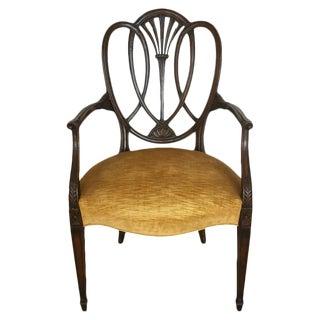 19th C. Antique English Armchair