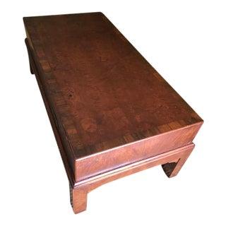 Large Chinese Kang Table