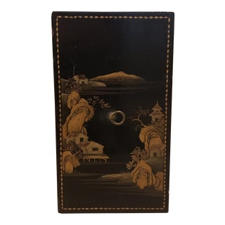 Antique Japanese Lacquer Wood Box