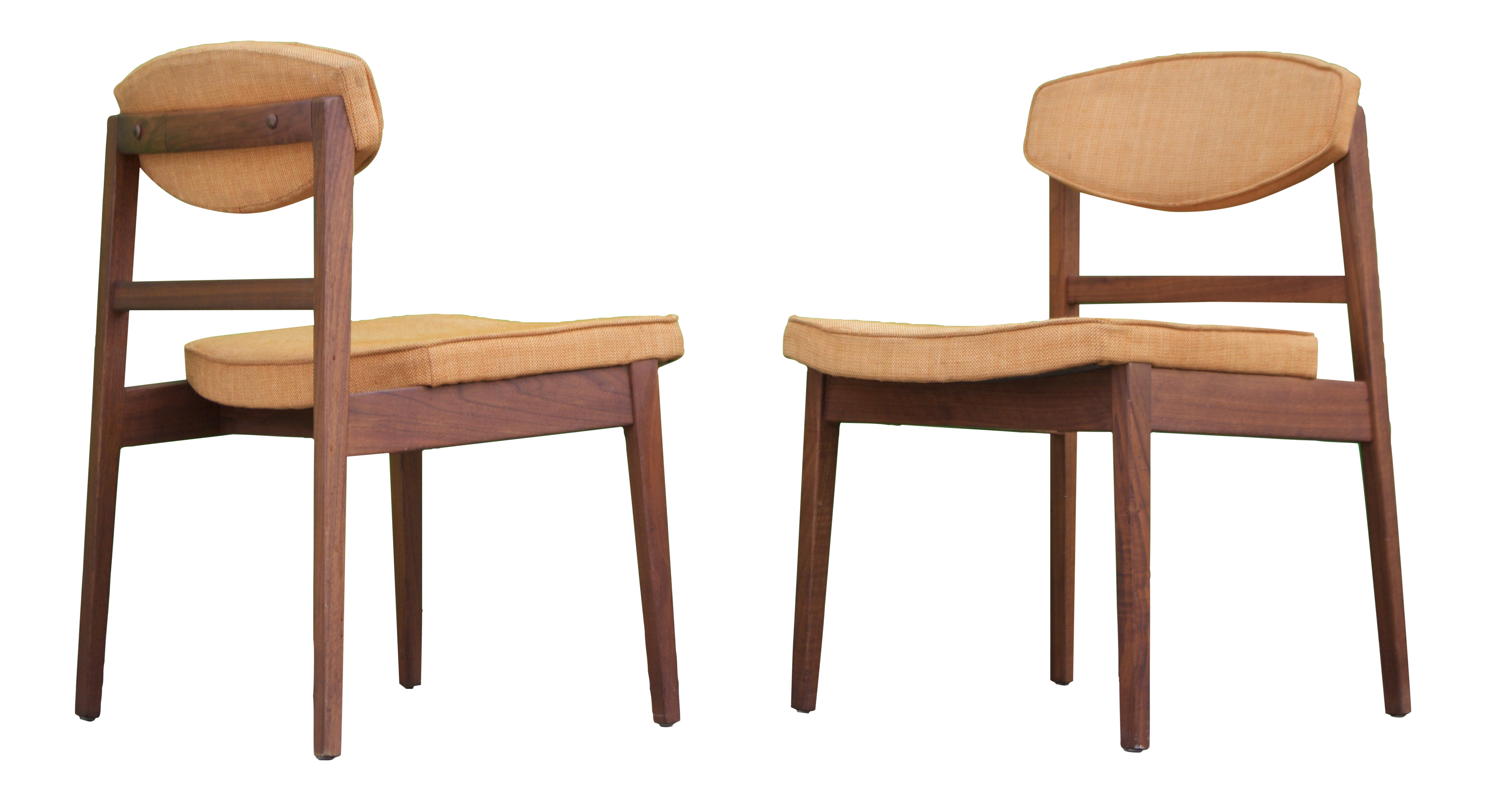 Attractive George Nelson Herman Miller Dining Chairs   Pair