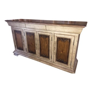 Traditional 2-Toned Credenza