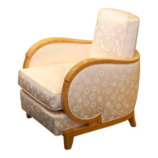 Rene Prou Single Art Deco Club Chair