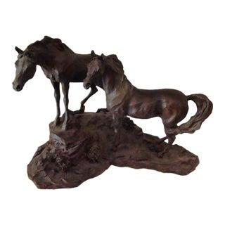"""The Intruder"" Lanford Monroe Sculpture"
