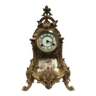 Antique Porcelain French Clock
