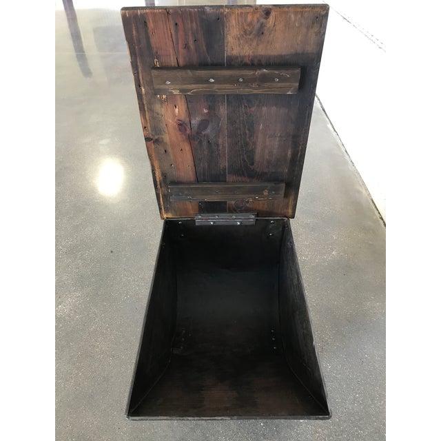 Vintage Industrial Cart Table or Beverage Cart - Image 9 of 10