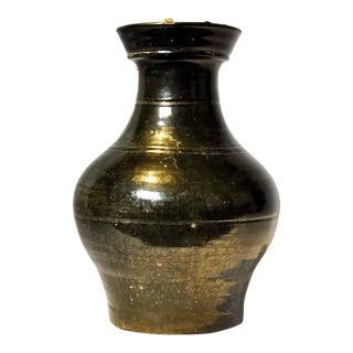 Han Dynasty Green Glazed Vase