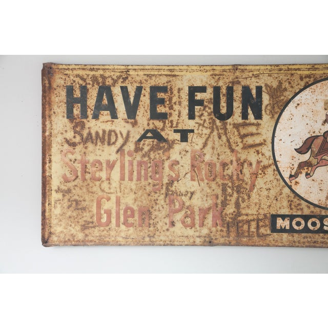 Have Fun At Sterling's Rocky Vintage Metal Sign - Image 3 of 4
