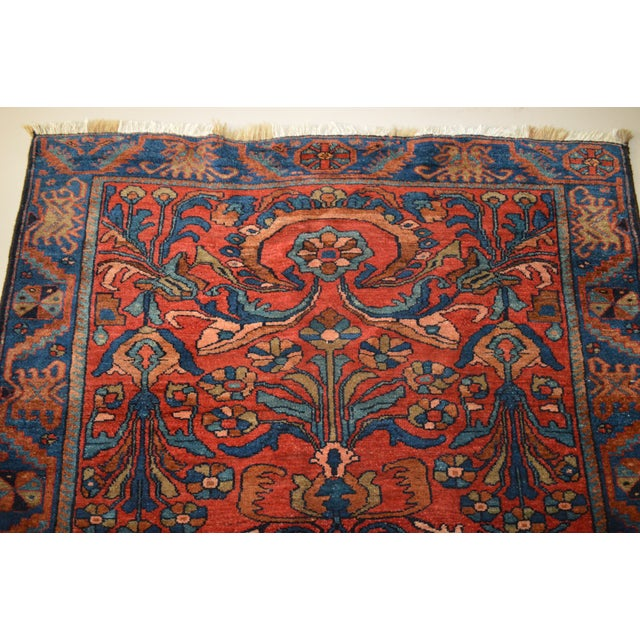 """Antique Persian Lilihan Rug - 5'5"""" x 8'9"""" - Image 5 of 6"""