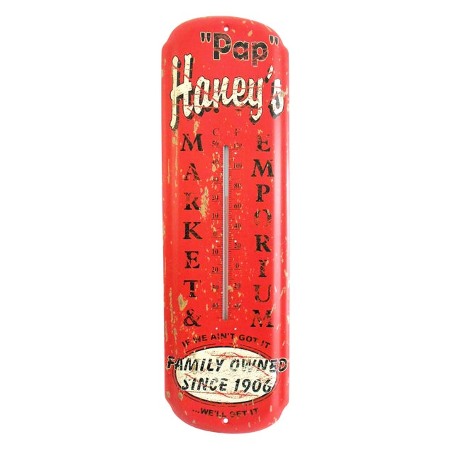 Pap Haney's Market Emporium Rustic Wall Thermometer - Image 1 of 9