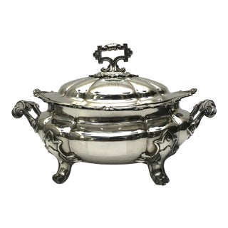 Antique Sheffield Tureen