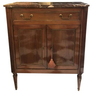 19th C. French Mahogany Buffet
