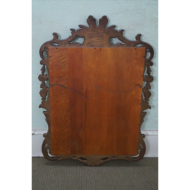 French Louis XV Gold Gilt Carved Wood Frame Mirror - Image 4 of 10