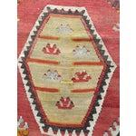 """Image of Vintage Turkish Kilim Rug- 7'7"""" x 11'7"""""""
