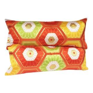 Fukuro Kikko Obi Pillows - A Pair