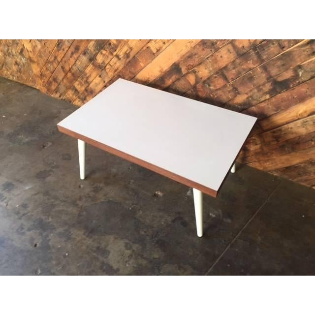 Mid-Century White Coffee Table - Image 5 of 7