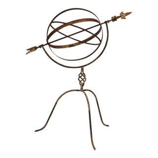 Armillary Style Metal Sphere