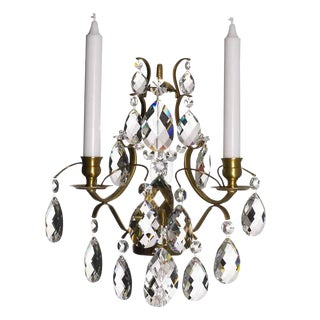Crystal Sconce Pompe Chandelier