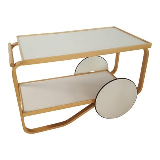 Alvaro Aalto for Artek Bar Cart Tea Trolley