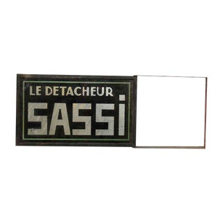 French Le Detacheur Sassi Sign