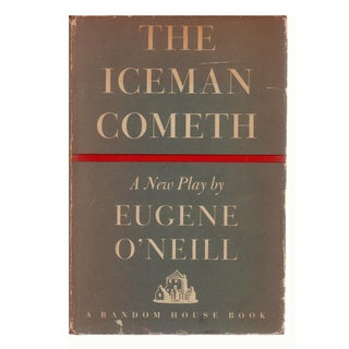 """""""The Iceman Cometh"""" 1946 First Edition Book by Eugene O'Neill"""