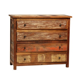 Reclaimed Teak Wood Dresser