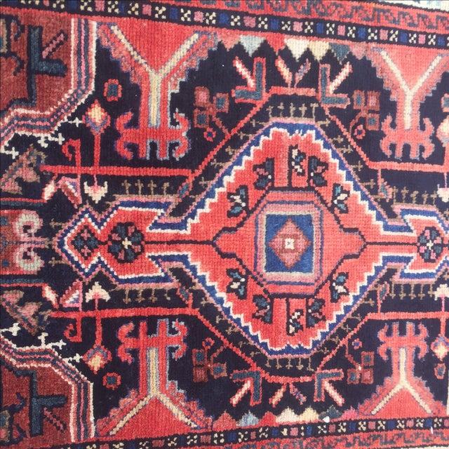 Vintage Hamadan Persian Rug