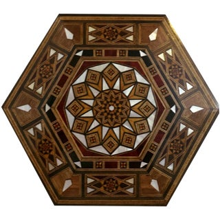 Hexagonal Wood Jewelry Box