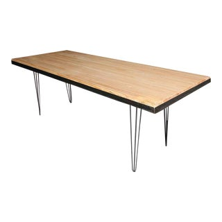 Metal Banded Bowling Alley Top Table