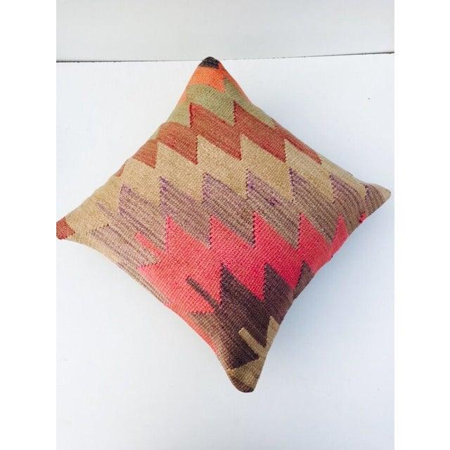 Vintage Turkish Kilim Pillow - Image 4 of 6