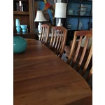 Image of Borkholder Amish Oval Dining Table