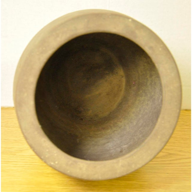 Vintage French Stoneware Pot - Image 4 of 7