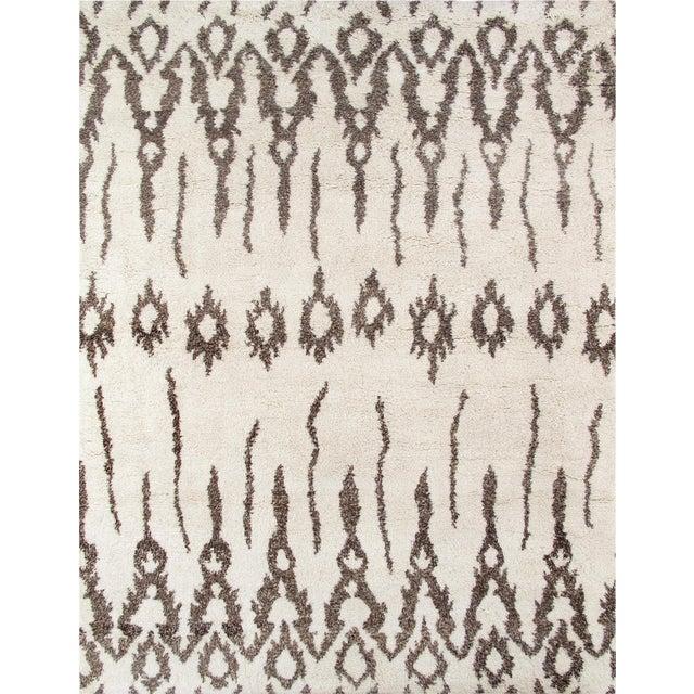 Pasargad Moroccan Lamb's Wool Rug - 9′3″ × 12′3″ - Image 1 of 4
