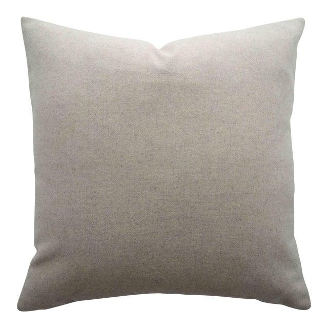 Italian Cream Sustainable Wool Pillow - Image 1 of 6