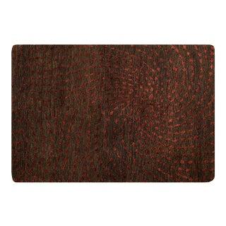 Modern Wool & Silk Handmade Rug - 2 X 3