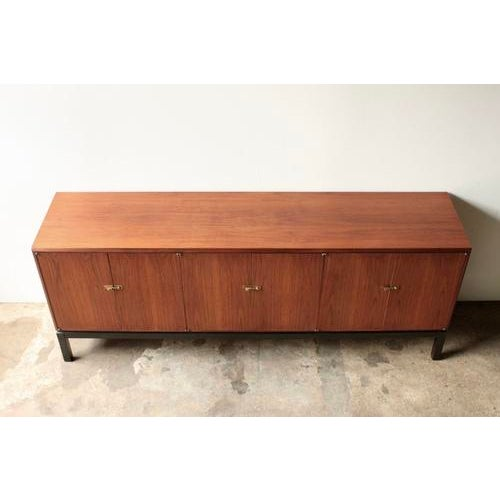 Image of Walnut Credenza Attributed to Harvey Probber