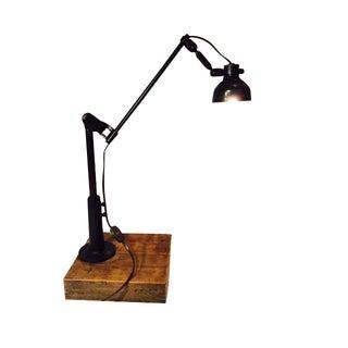 Vintage Industrial Lamp - New Wiring
