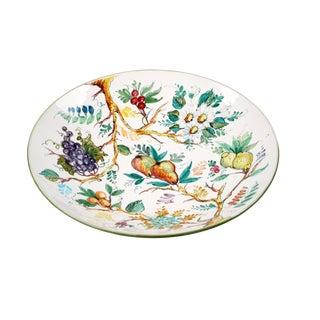 Italian Ceramic Fruit Plate