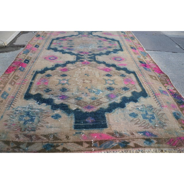 Antique Persian Runner Rug - 3′2″ × 9′11″ - Image 4 of 6