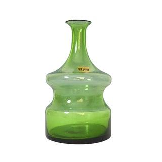 Vintage Mid-Century Modern Italian Glass Decanter