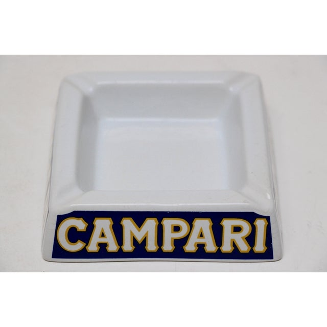 Italian Porcelain Campari Ashtray - Image 4 of 7
