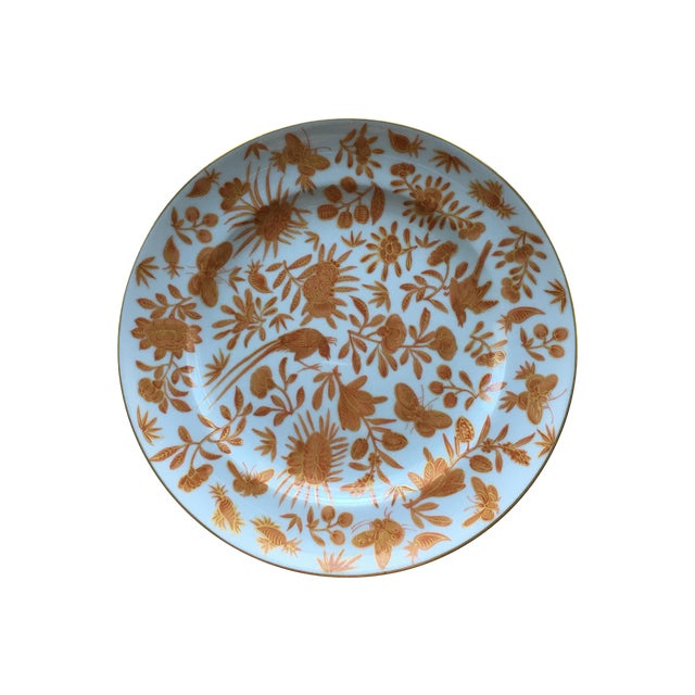 Mottahedeh Bird Butterfly Salad Plates - Set of 5 - Image 1 of 6